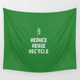 Reduce... Wall Tapestry