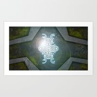 shadow of the colossus Art Prints featuring Shadow Of The Colossus by KeenaKorn