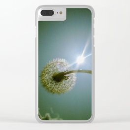 Make a wish! Clear iPhone Case