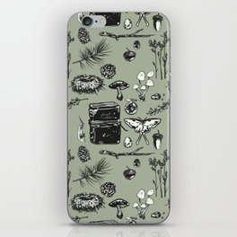 Forest Notes iPhone Skin