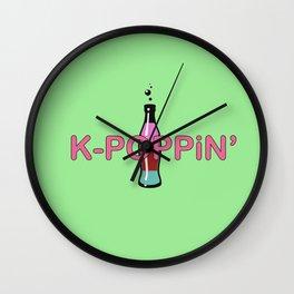 K-Poppin' Wall Clock