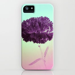 Purple Ruffles iPhone Case