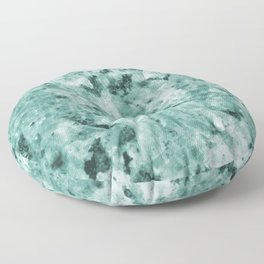 Mint Green Crystal Marble Floor Pillow