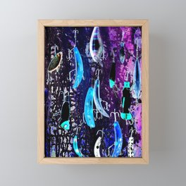 Midnight Lures Framed Mini Art Print