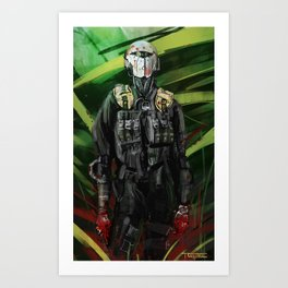 The Incident Art Print