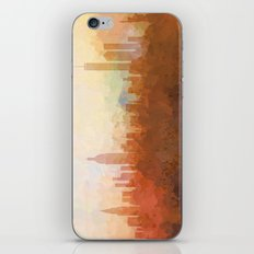 New York Skyline - In the Clouds iPhone & iPod Skin