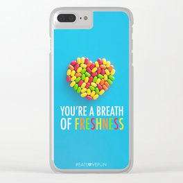 You're a Breath of Freshness Clear iPhone Case