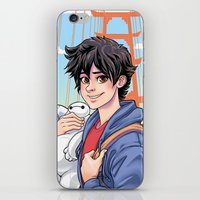 daunt iPhone & iPod Skins featuring Big Hero by Daunt