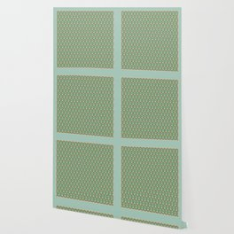 Good Morning Mr. Hoffmann Pattern (Pale Blue) Wallpaper