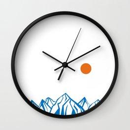 Napoleon Mountain Wall Clock