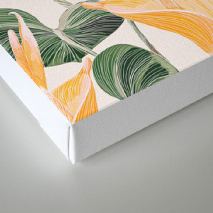 Lush Lily - Autumn Canvas Print
