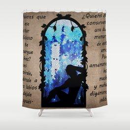 Elf. Zevran. Rima de Antiva Shower Curtain