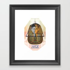 Kennedy was a Pharaoh Framed Art Print
