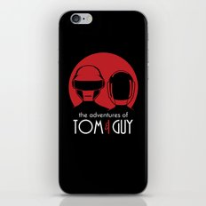 The Adventures of Tom and Guy iPhone & iPod Skin