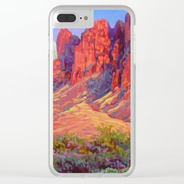 Superstitions Fantasy by Amanda Martinson Clear iPhone Case