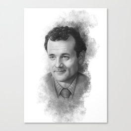 Peter Venkman ( Bill Murray ) Sketch Canvas Print