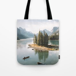 A Canadien Postcard Tote Bag