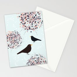 Hawthorn & Blackbird Stationery Cards