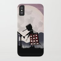 dalek iPhone & iPod Cases featuring Dalek Kid by Andy Fairhurst Art