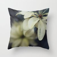 silent Throw Pillows featuring Silent by BURNEDINTOMYHE∆RT♥
