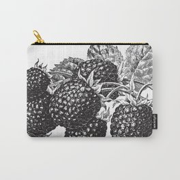 Vintage Blackberry Carry-All Pouch