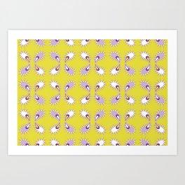 paisley pattern 2 Art Print