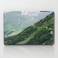 switzerland iPad Cases featuring Switzerland by Tana Helene