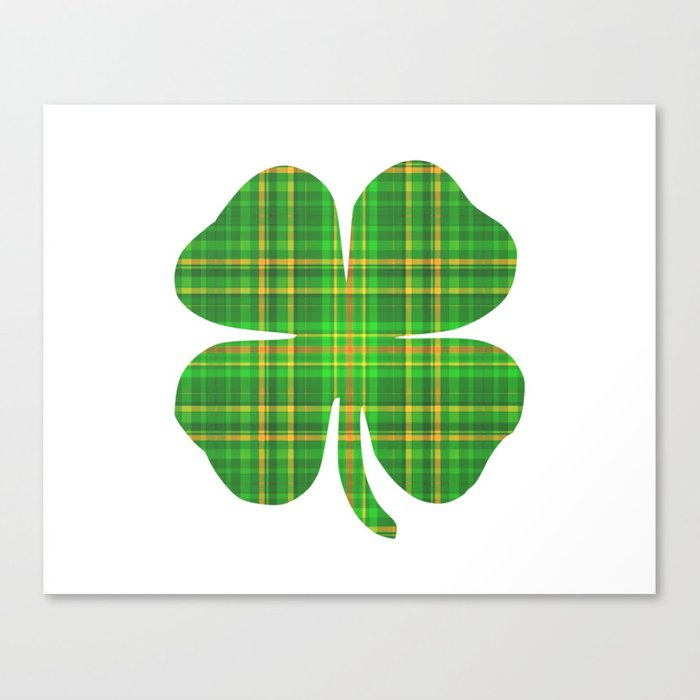 It is a photo of Wild St Patrick's Day Clover Printable