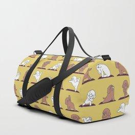 Poodle Yoga Duffle Bag