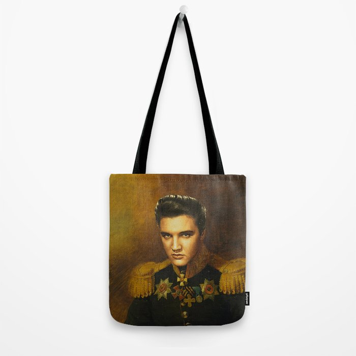 Elvis Presley - replaceface Tote Bag
