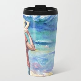 Another Nice Day at the Beach Travel Mug