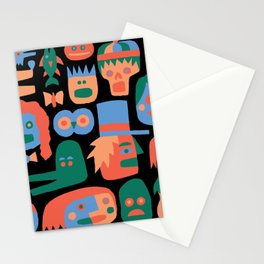 COLORFUL FACES Stationery Cards