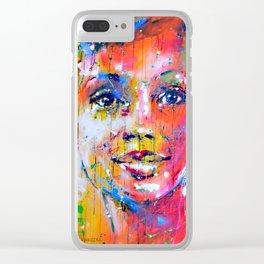 sweet feeling Clear iPhone Case