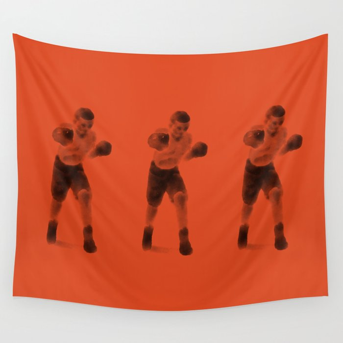 The Boxer Wall Tapestry