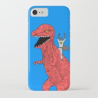 dinosaur iPhone & iPod Cases featuring Dinosaur B Forever by Isaboa