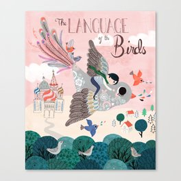 Language of the birds Canvas Print