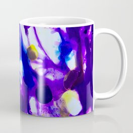 Abstrct Blue Coffee Mug