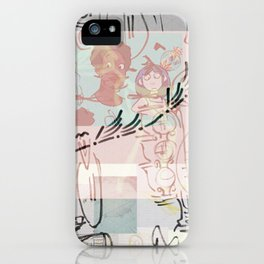collage winter 2016 iPhone Case