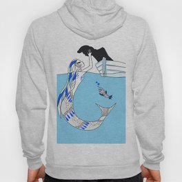 Pisces / 12 Signs of the Zodiac Hoody