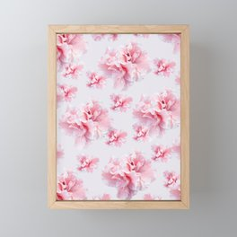 Pink Azalea Flower Dream #1 #floral #pattern #decor #art #society6 Framed Mini Art Print