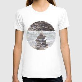 Johnson Canyon Inukshuk T-shirt