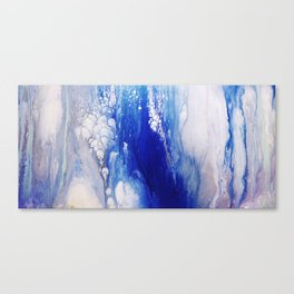 The Plunge Canvas Print