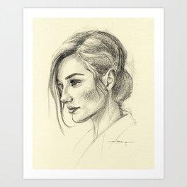 Gal Art Print