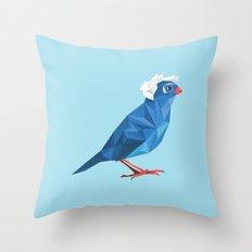 Birdie Sanders Throw Pillow