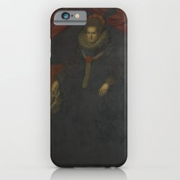 Paulus Moreelse - Sophia Hedwig of Brunswick-Wolfenbuttel (1592-1642), Princess of Nassau-Dretz iPhone Case