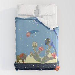 At night Duvet Cover