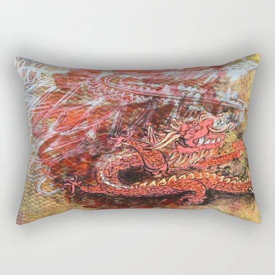 Awakening of the Dragon Rectangular Pillow