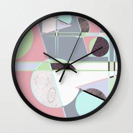 Italian 80's scandinavian style Wall Clock