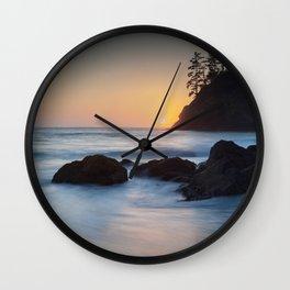 Pewetole Sunset Wall Clock