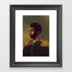 Sir Gambino Framed Art Print